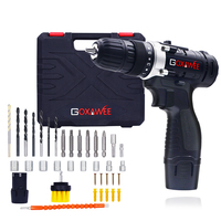 12V Power Tool Handheld Electric Drill Lithium Cordless Drill Driver Household Rechargeable Electric Screwdriver & 100pcs Bits