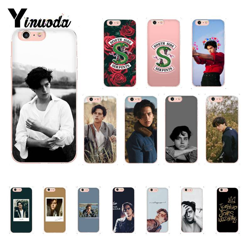Yinuoda American TV Riverdale Jughead Jones Woz Here <font><b>PhoneCase</b></font> for iPhoneX XSMAX 6 6s 7 <font><b>7plus</b></font> 8 8Plus 5 5S XR 11 11pro 11promax image