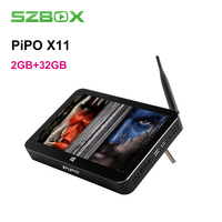 Pipo X11 8,9 дюймов 1920*1200 Экран Mini PC 2 ГБ 32 ГБ Android 5,1 Вт 10 Cherry Trail z8350 с BT4.0 HDMI Wifi smart tv box
