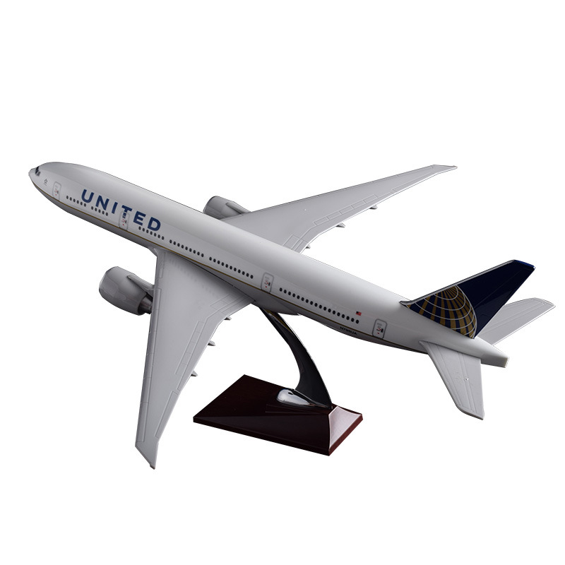 47cm Resin Boeing 777 Airplane Model United Arab Emirates Airlines International Airways Model Aircraft Model Travel Souvenir