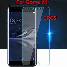 2 шт GOME K1 закаленное стекло для GOME K1 4G LTE защита экрана 9H 2.5D Защитная пленка для телефона Gome k1 K 1 64 Гб 128 ГБ