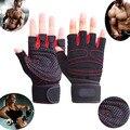Gimnasio Body Building Training deportes de la aptitud guantes de levantamiento de pesas para hombre y mujeres Custom gimnasio ejercicio de entrenamiento gimnasio guantes