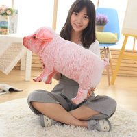 new arrival stuffed toy 3D Dimensional simulation pig plush toy about 55cm 0066