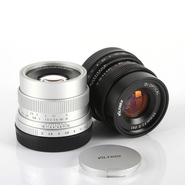 Viltrox 35mm F2 Wide Angle Large Aperture Fixed Prime Camera Lens ...