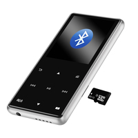 2.4 TFT 8G/16GB Bluetooth 4.1 MP3 Player HiFi MP4 Player Sport Mini Walkman Speaker FM Recorder Pen,With TF/SD Slot