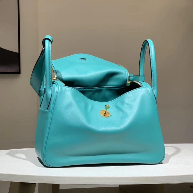 Bags Designer Runway Top-Quality Genuine-Leather Brand Female Europe