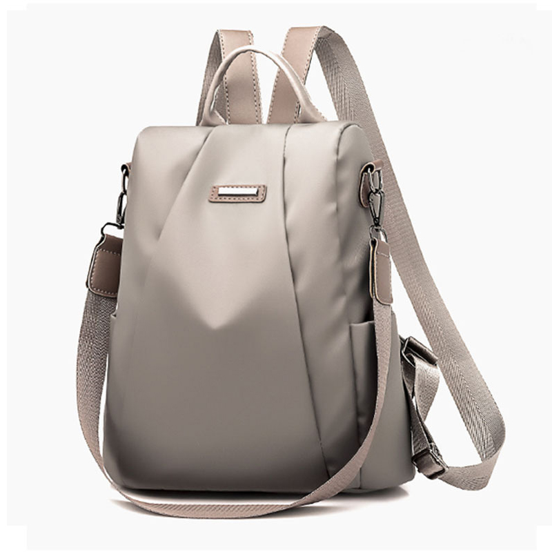 HTB1tg0hXdfvK1RjSspfq6zzXFXas Fashion Laptop Backpack Nylon Charge Computer Backpack Anti-theft Waterproof Bag for Women Oxford cloth student bag Teenage