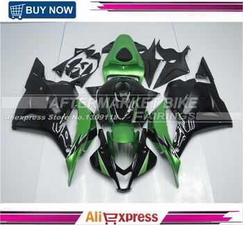 INJECTION Fairing Bodywork Kit Set For Honda CBR600RR 2009-2012 010 Green & Black Model