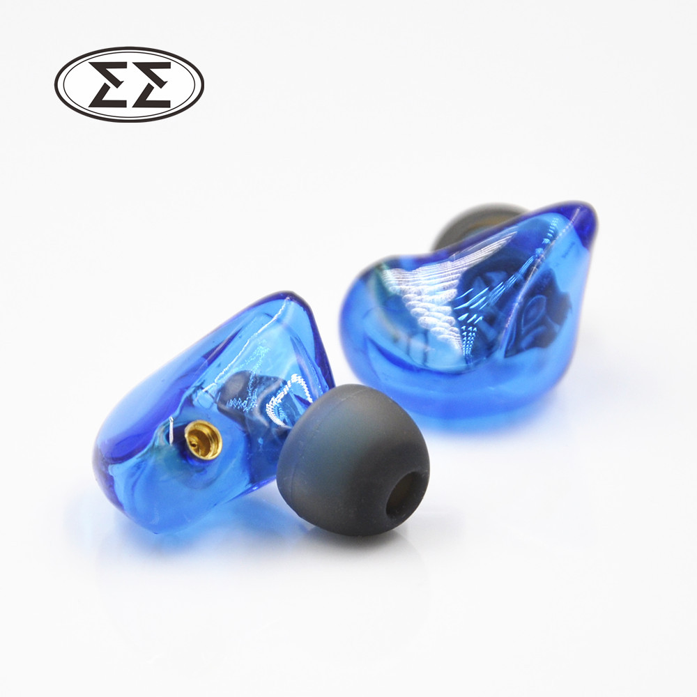 2016 Easy UE Custom Made Around Ear Earphone Dynamic In-Ear Headset With MMCX Interface Dynamic HIFI Earbuds original senfer dt2 ie800 dynamic with 2ba hybrid drive in ear earphone ceramic hifi earphone earbuds with mmcx interface