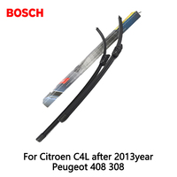 2pcs Lot Bosch Car AEROTWIN Wipers Windshield Wiper Blades Dedicated Wipers For Citroen C4L After 2013year