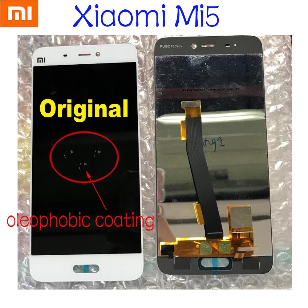 Original Xiaomi 5 Mi 5 M5 Mi5 Best Working Glass Sensor LCD Display 10 Point Touch Panel Screen Digitizer Assembly ReplacementOriginal Xiaomi 5 Mi 5 M5 Mi5 Best Working Glass Sensor LCD Display 10 Point Touch Panel Screen Digitizer Assembly Replacement