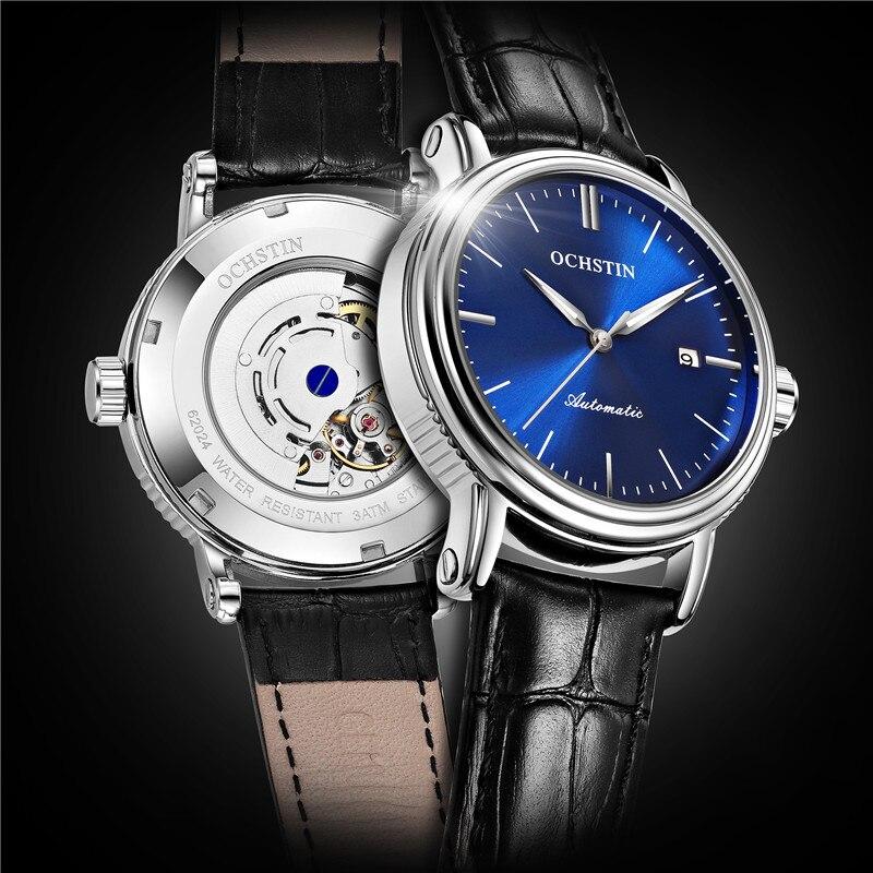 Nouveau OCHSTIN haut de gamme marque de luxe Tourbillon automatique mécanique montres hommes Sport montre affaires montre-bracelet horloge Relogio Masculino