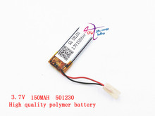 Liter energy battery 3.7v polymer lithium battery 501230 150MAH general remote control bluetooth battery wireless mouse