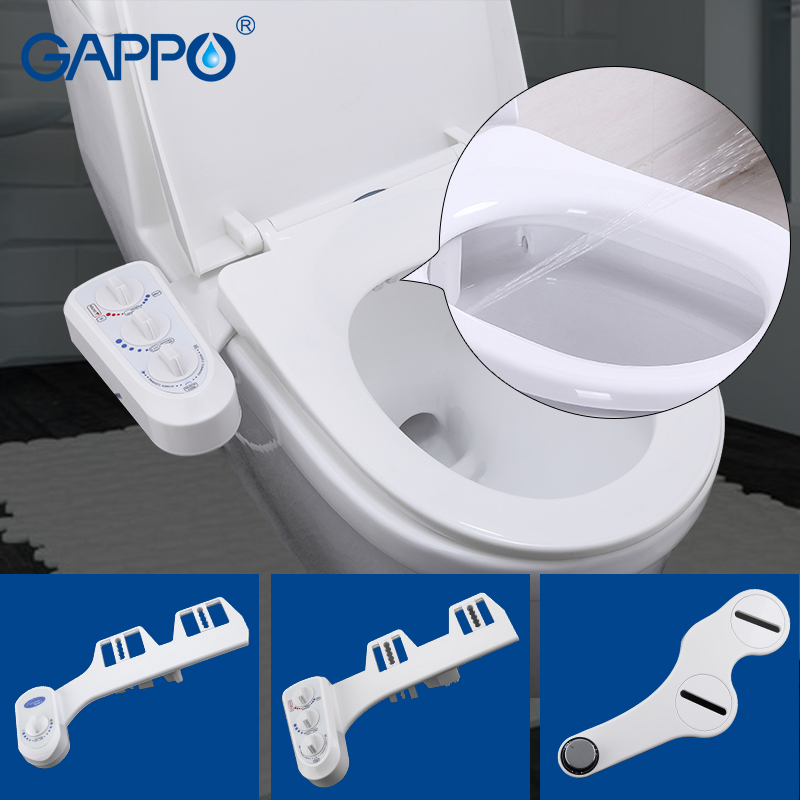GAPPO Toilet Seats bidet toilet seat cover bathroom bidet faucet simple clean toilet seat cover bidet sprayer shower seat