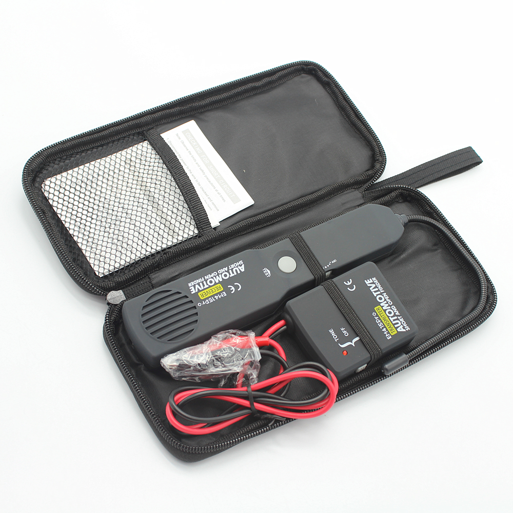 Universal Automotive Cable Wire Tracker Short Open Circuit Finder Vehicle Wiring Tester Car Repair Tone Tracer