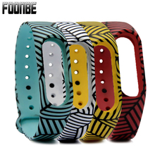 Red/Blue/White/Yellow Silicone Strap For Xiaomi 2 For Mi Band 2 Strap Wristband for Miband 2  Bracelet  Wearable Devices