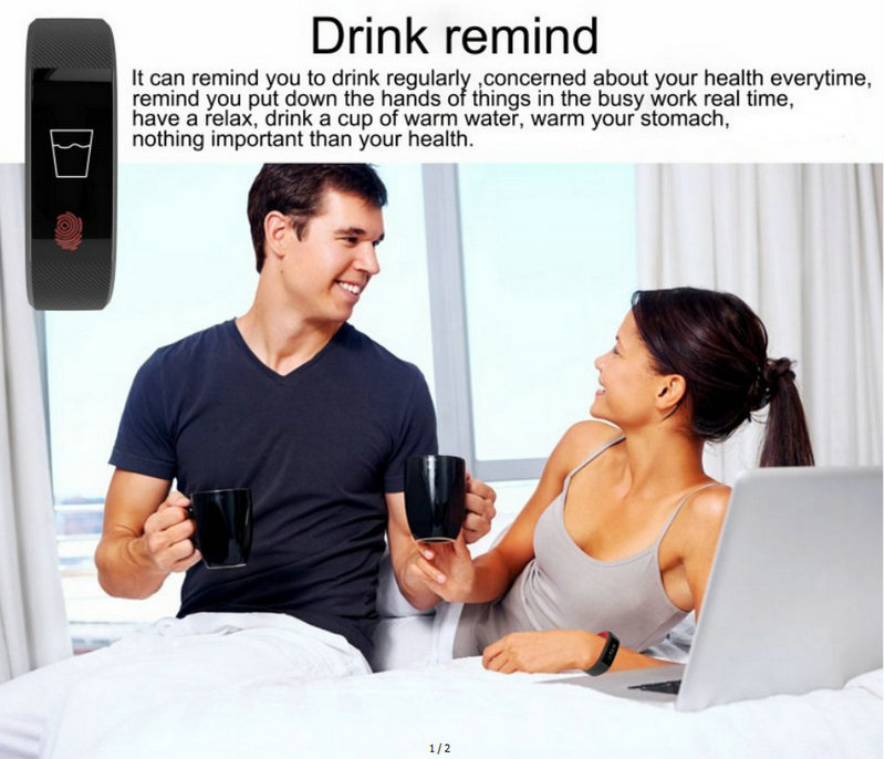 Best fitness bracelet W808S sports bracelet all compatible support heart rate monitor sleep tracker call reminder SMS reminder 8