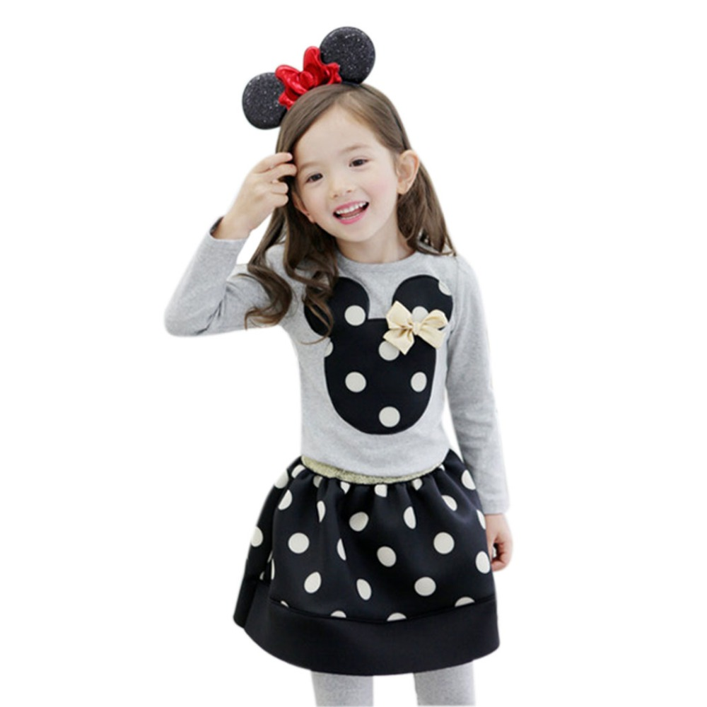 Cute Minnie Mouse Clothes For Baby Toddler Girls Clothing ...