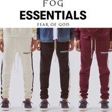 6c8bff84 Fear Of God Essentials Sweatpants Men 1:1 High Quality Drawstring Tracksuit  Joggers Sweat Pants