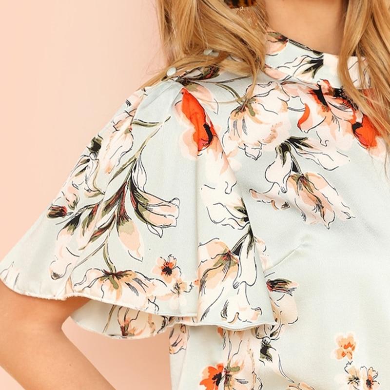 Floral Print Blouse 10