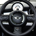 Car Styling Steering Wheel Badge 3D Emblem Sticker Decals Fit For BMW Mini Cooper 2011 2012 2013 Car Accessories Car-Styling