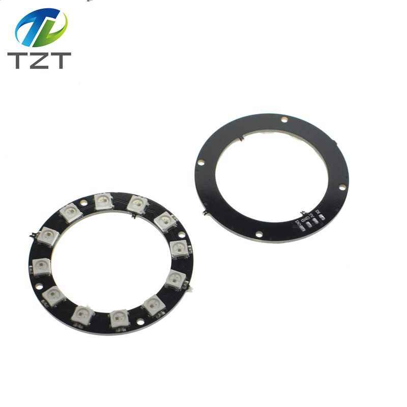1pcs RGB LED Ring 1Bit 8Bit 12Bit 16Bit 24Bit WS2812 5050 RGB LED + Integrated Drivers Built-in full-color actuate lights Round