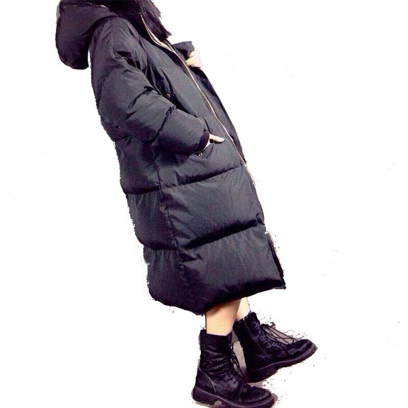 2016 womens winter Cotton down jackets and coats women High Quality Warm Female Oversize Warm Parka Hood Over Coat стоимость