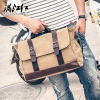 Европейский Америка модный стиль мужская деловая сумка повседневная сумка мужской Дорожная сумка Кроссбоди Мешок