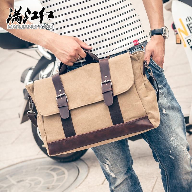European America fashionable style men s business messenger bag casual shoulder bag male travel bag crossbody