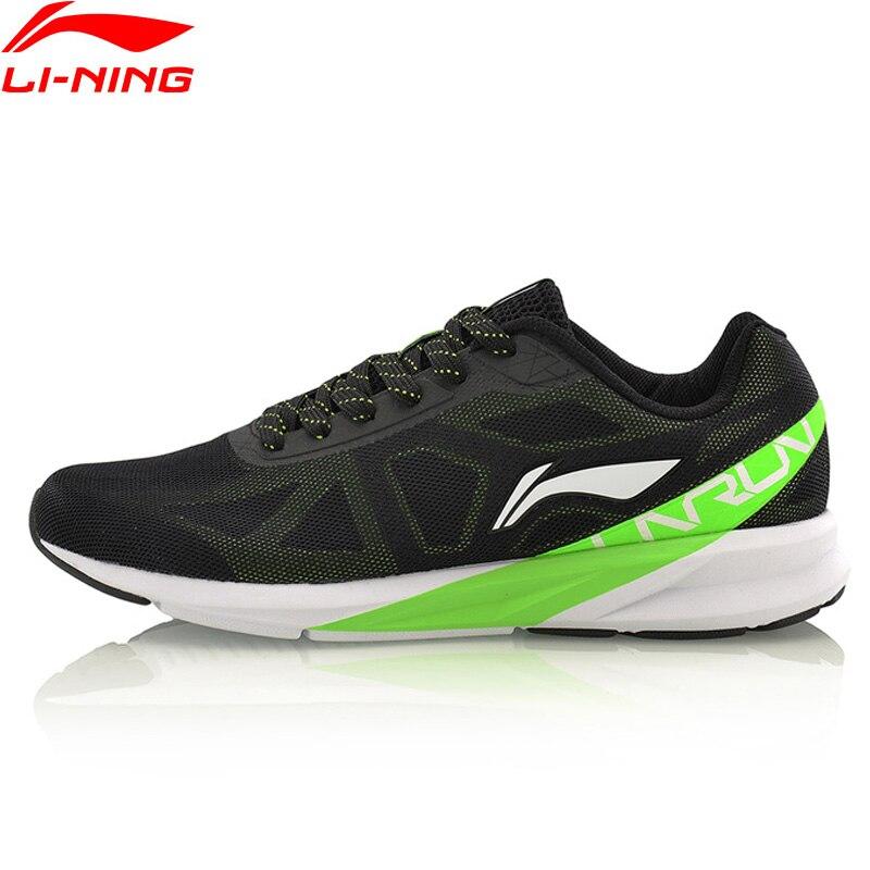 Li-Ning Men Colorful Running Shoes Comfort Wearable Sneakers LiNing Mesh Breathable Cushion Sports Shoes ARHM039 XYP567 original li ning men s breatnable running shoes sneakers free shipping