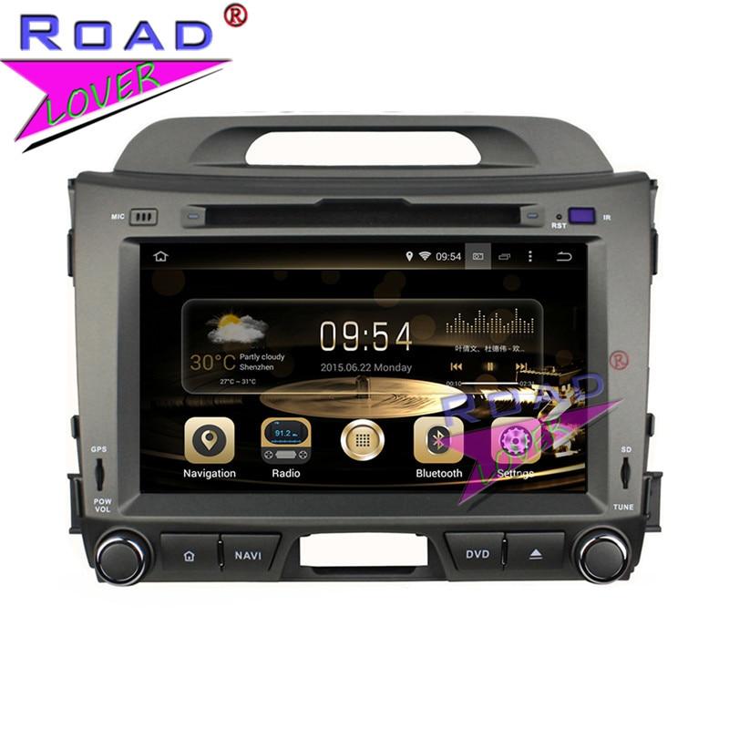 TOPNAVI Octa Core 4G+32GB Android 6.0 Car Media Center DVD Auto Player Radio For KIA Sportage 2010- Stereo GPS Navi Double Din