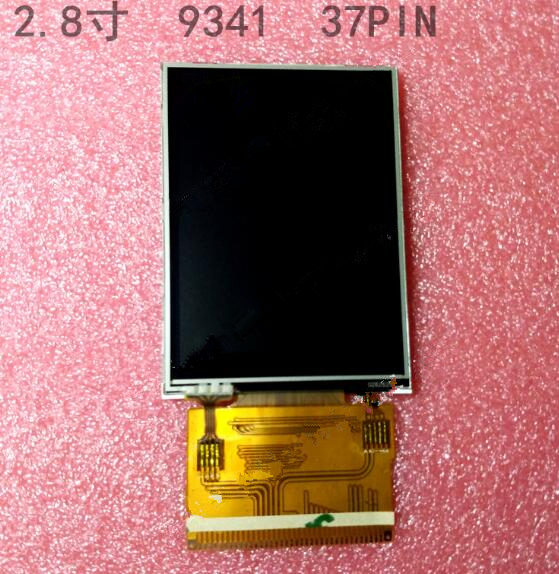 New 2.8 inch TFT LCD screen, 9341 with touch