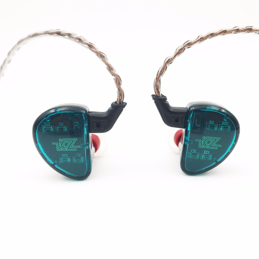 KZ AS10 5BA HiFi Stereo In-Ear Earphone High Resolution Earbud Earphone with 0.75mm 2 pin Cable Five Balanced Armature DriverKZ AS10 5BA HiFi Stereo In-Ear Earphone High Resolution Earbud Earphone with 0.75mm 2 pin Cable Five Balanced Armature Driver