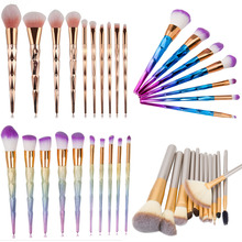 Professional Synthetic Fibre Makeup Brushes