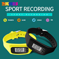Mulheres SKMEI Moda Relógios Desportivos Pedômetro Calorie Quilometragem Do Esporte Digital Watch Menina Colorful Silicone Strap Relógios De Pulso 1207