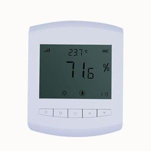 Image 1 - Беспроводной регистратор данных о влажности 470 МГц, измеритель влажности lora 433 МГц, датчик температуры и влажности, сменный настенный аккумулятор