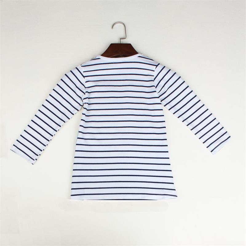 TANGUOANT-Striped-Patchwork-Character-Girl-Dresses-Long-Sleeve-Cute-Mouse-Children-Clothing-Kids-Girls-Dress-Denim-Kids-Clothes-4