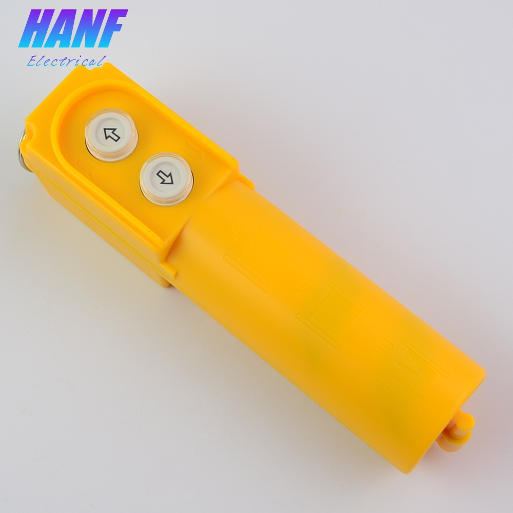 1pcs Hoist Crane Control Push Button Switch with Capacitor Up Down Momentary COB-61DR Travel Button Switch 10A 500V 2.2KW cob 64 hoist crane pendant pushbutton switch up down rain proof button 8