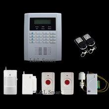 Четырехъядерный Полосы Проводной Беспроводной GSM PSTN SMS Главная Компания Магазин Охранной сигнализации с Голосовую Подсказку