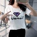 Roupas de verão T-shirt de Mangas Curtas Das Mulheres do Sexo Feminino Atacado