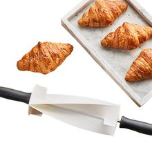 Пластиковый режущий ролик для изготовления круассан, хлеб, колесо для теста, деревянная ручка ножа для выпечки, кухонный нож