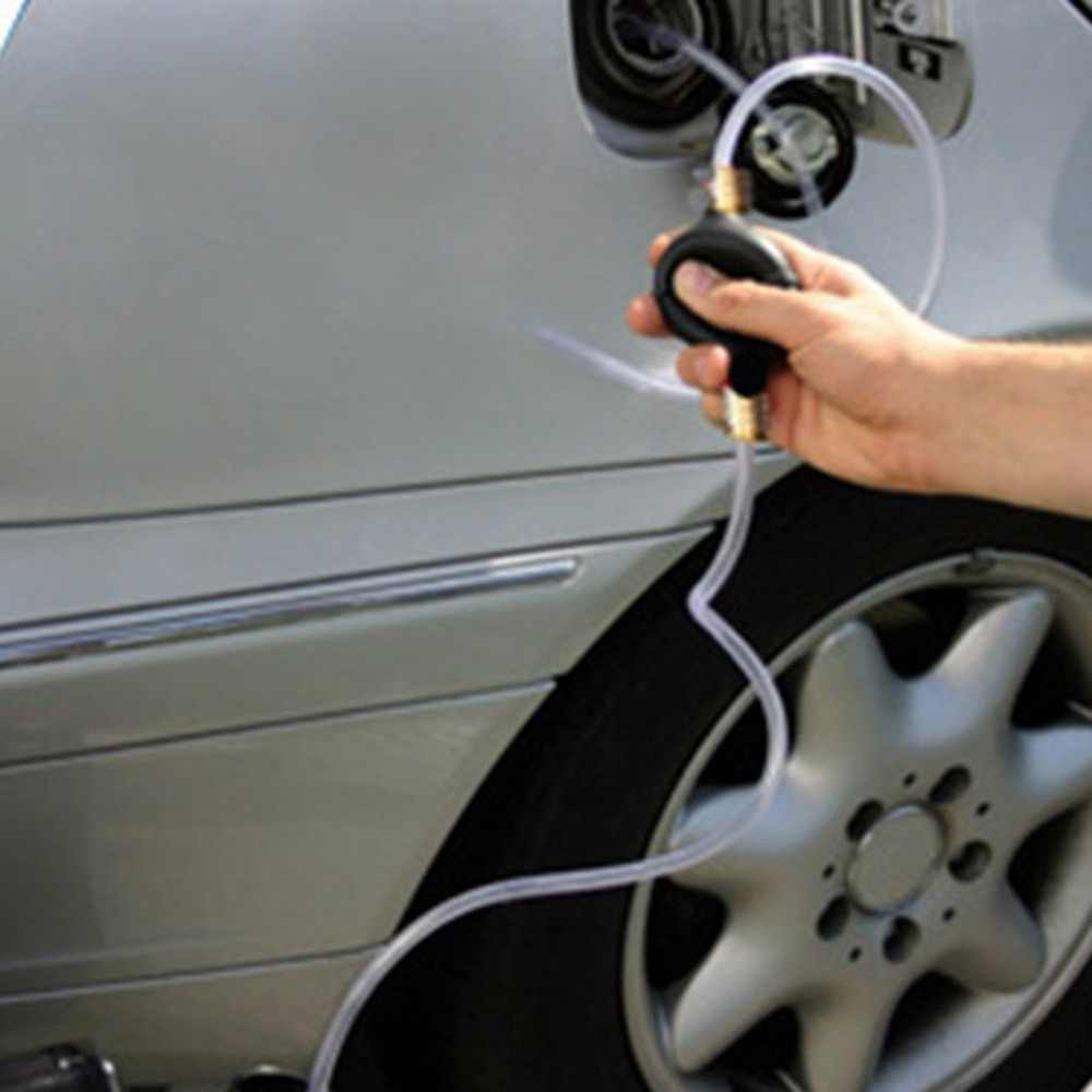 السيارات سيارة سيفون سيفون خرطوم أنبوب مضخة للسوائل المياه الغاز البنزين السائل نقل المحمولة دليل اليد مضخة أدوات