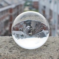 New 40mm 50mm 60mm 80mm 100mm Clear Round Glass Artificial Crystal Healing Ball Sphere Decoration P20 2