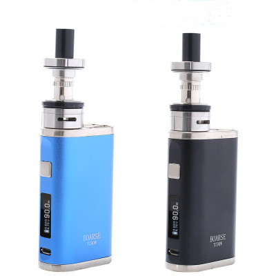 Eletronic Vaper Genuine WHK TC90w <font><b>E</b></font>-<font><b>cigarette</b></font> Box Mod Vape Starter Kit 0.2/0.5ohm 2ml Tank <font><b>2200mah</b></font> <font><b>Battery</b></font> Temperature control image