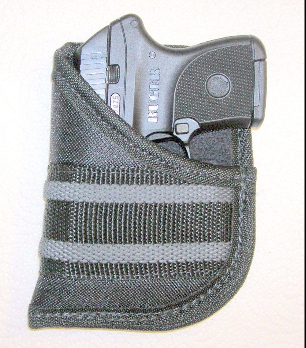 Tactical Concealment Gun Pistol Pocket Holster Hunting Ruger LCP Pouch for 22 25 380 Autos Nylon Small Handgun Bag image