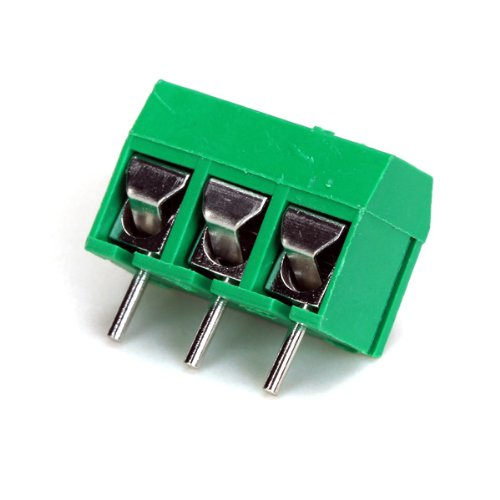 3 Pins 5mm Pitch Screw Terminal Block Connector