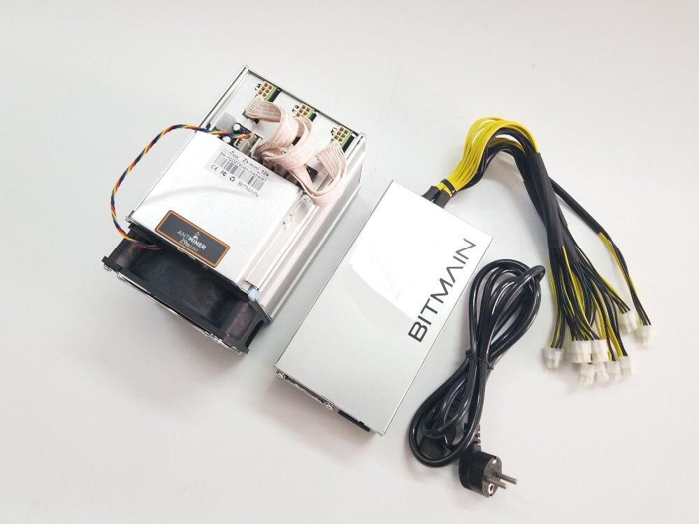 Nova Mineiro Antminer ZCASH Z9 Mini 10 k Sol/s 300 W Com Asic BITMAIN APW3 1600 W PSU equihash Miner Better than A9 S9 em estoque