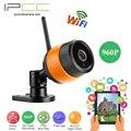 Ipcc 8g tfcard 960 p vigilancia wifi ip 1.3mp cámara impermeable ip66 cctv cámara de seguridad de visión nocturna de interior al aire libre