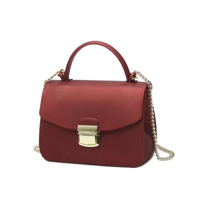 2018 Matte Jelly Bag Tote Beach Bags Designer Small Shoulder Messenger  Silica Gel Bags Women Brand 2e7c5e4d6c