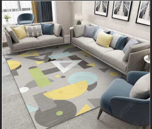 200*300 cm abstrait Splash tapis pour salon canapé Table basse tapis décor à la maison tapis chambre étude chambre tapis de sol moderne non